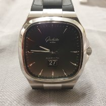 Glashütte Original Seventies Panorama Date Acier 40mm Gris