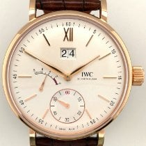 IWC Portofino Hand-Wound Rose gold 45mm Silver No numerals United States of America, New York, New York