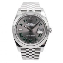 Rolex Datejust Steel 40mm Grey