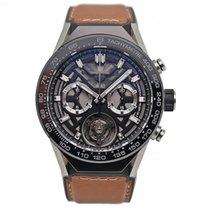 TAG Heuer Carrera Heuer-02T CAR5A8Y.FT6072 Very good Titanium 45mm Automatic
