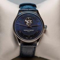 Frederique Constant Classics Heart Beat Acier 40mm Bleu Romains