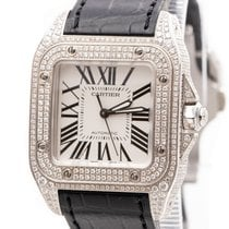 Cartier Santos 100 2878 Very good Steel 33mm Automatic