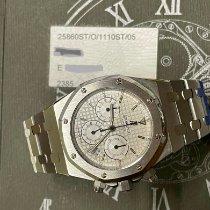 Audemars Piguet Royal Oak Chronograph Acero 39mm Blanco Sin cifras
