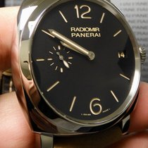Panerai Radiomir 1940 3 Days pre-owned 47mm Black Leather