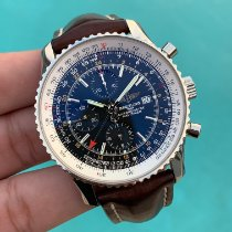 Breitling Navitimer World Steel 46mm Black No numerals United States of America, Texas, Houston