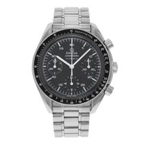 Omega Speedmaster Reduced Сталь 39mm Черный