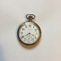 Elgin 50mm Manual winding Pocket Watch pre-owned United States of America, Michigan, Rochester Hills