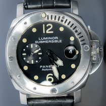 Panerai Steel 44mm Automatic 6561 pre-owned