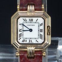 Cartier Trinity Yellow gold 29mm White Roman numerals
