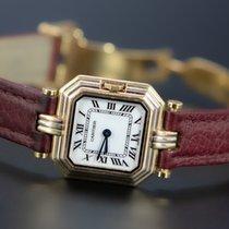 Cartier Trinity Желтое золото 22mm Белый Римские