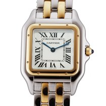 Cartier Panthère Gold/Steel 27mm Roman numerals United States of America, New York, New York