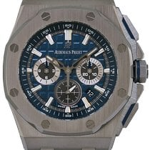 Audemars Piguet Royal Oak Offshore Chronograph Titane 42mm Bleu France, Paris