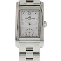 Baume & Mercier Hampton Steel 20mm White United States of America, New York, New York