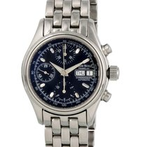 Armand Nicolet Steel 38mm Automatic 9048A pre-owned United States of America, New York, New York