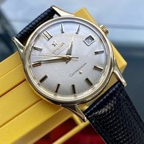 Omega Constellation Gelbgold 34mm Weiß
