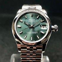 Rolex Lady-Datejust Acciaio 31mm Verde Romani Italia, San Giovanni Valdarno