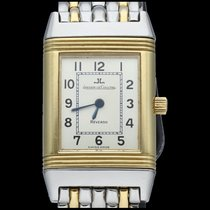 Jaeger-LeCoultre Reverso Classic Small pre-owned 20mm Silver Gold/Steel