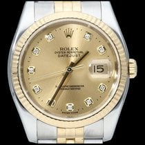 Rolex 116233 Or/Acier 2007 Datejust 36mm occasion