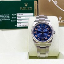 Rolex Air King pre-owned 34mm Steel