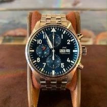 IWC Pilot Chronograph Acier 43mm Bleu Arabes France, Cannes