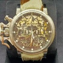 Graham Chronofighter new 2021 Automatic Chronograph Watch with original box and original papers 2CVDS.W01A