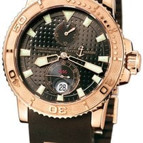 Ulysse Nardin Maxi Marine Diver Rose gold 42.7mm Brown United States of America, New York, New York