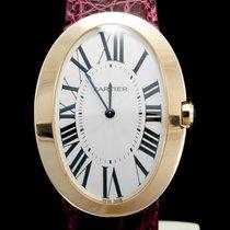 Cartier Baignoire Or rose 34mm Argent Romains
