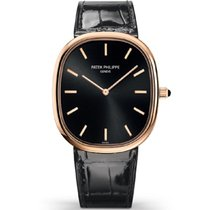 Patek Philippe Golden Ellipse Rose gold 35mm Black No numerals United States of America, New York, New York