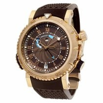 Breguet Marine Rose gold 45mm Brown Roman numerals United States of America, New York, New York