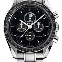 Omega Speedmaster Professional Moonwatch Moonphase Steel 44.25mm Black United States of America, New York, New York