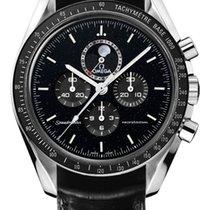 Omega Speedmaster Professional Moonwatch Moonphase nuevo Cuerda manual Cronógrafo Reloj con estuche y documentos originales 311.33.44.32.01.001