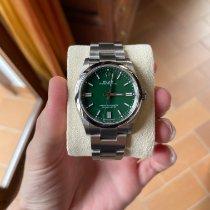 Rolex Oyster Perpetual 36 Acero 36mm Verde Sin cifras España, Huelva