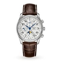 Longines Master Collection Steel 40mm Silver Arabic numerals United States of America, Iowa, Des Moines