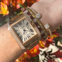 Cartier Tank Anglaise Rose gold 40mm Silver United States of America, Florida, Miami