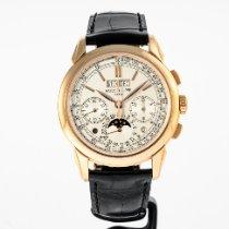 Patek Philippe Perpetual Calendar Chronograph 5270R-001 Very good Rose gold 41mm Manual winding