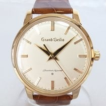 Seiko Yellow gold Manual winding 38mm pre-owned Grand Seiko