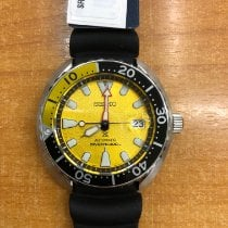 Seiko new Automatic Luminous numerals Luminous hands 42mm Steel Glass