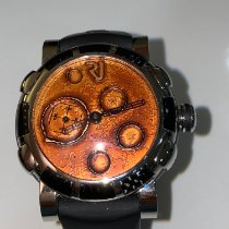 Romain Jerome Moon-DNA Acero 46mm Naranja