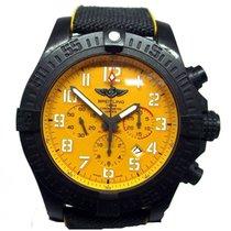 Breitling Avenger Hurricane Углерод 50mm Желтый