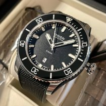 Union Glashütte new Automatic Display back Central seconds Luminous hands Rotating Bezel Screw-Down Crown Quick Set Only Original Parts Luminous indices 45mm Steel Sapphire crystal