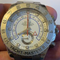 Rolex Yacht-Master II Or blanc 44mm Blanc Sans chiffres France, Paris