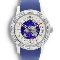 Fortis B-47 Steel 47mm Blue United States of America, California, Los Angeles