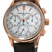 Frederique Constant Manufacture Rose gold 42mm Silver United States of America, New York, Monsey