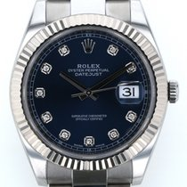 Rolex (ロレックス) 中古 自動巻き 41mm ブルー サファイアガラス 10 ATM