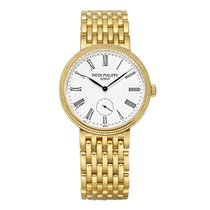 Patek Philippe Calatrava Yellow gold 31mm White United States of America, Connecticut, Greenwich