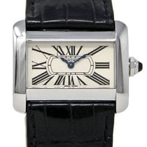 Cartier 2599 Steel 2002 Tank Divan 32mm pre-owned United States of America, Florida, Miami