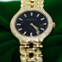 Tiffany Хорошее Желтое золото 33mm Кварцевые