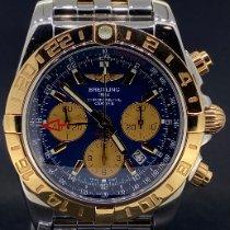 Breitling Chronomat 44 GMT Or/Acier Bleu