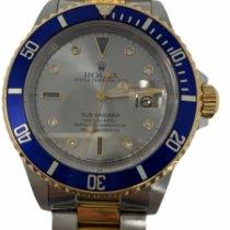 Rolex Submariner Date usados 40mm Gris Fecha Acero y oro