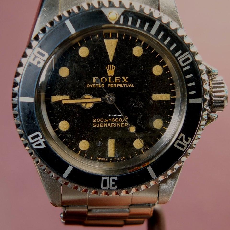 Rolex Submariner 5513 Rolex Meters First Gilt Dial B & P aus 1966 1966 gebraucht